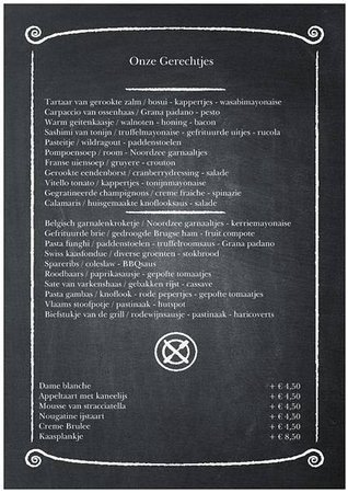 menukaart foto van restaurant goesting nuenen tripadvisor rh tripadvisor nl