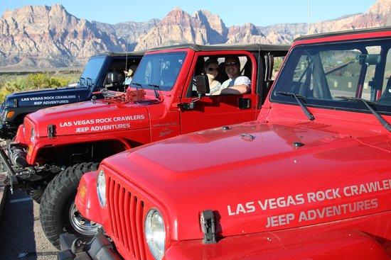 Las Vegas Rock Crawlers: red rock canyon