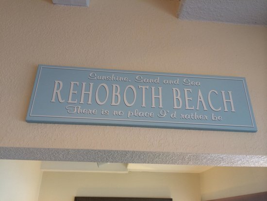 Beach View Motel: What a way to welcome you!
