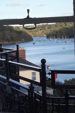 The Fowey Hotel: lovely view