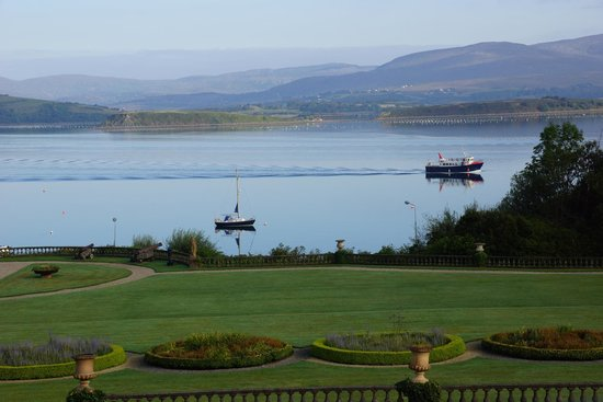 Bantry House B&B : gorgeous views from guest room