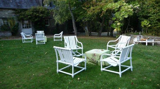 Hotel Kastell Dinec'h: le parc