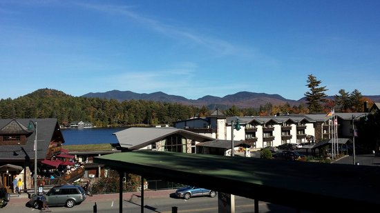 Mountain View Inn: View from room 68