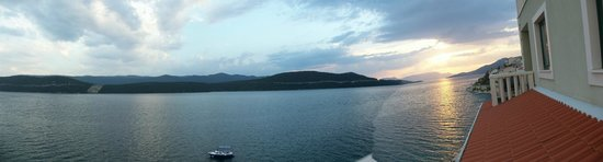 Neum, Bosnia-Hercegovina: panorama vue sur mer