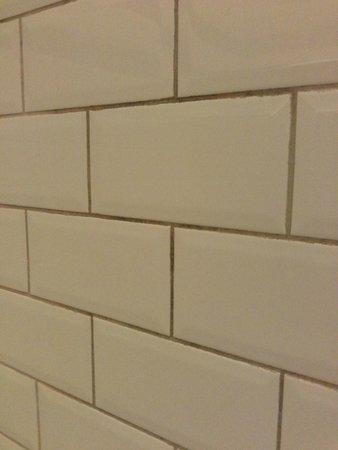 Brooks Hotel Edinburgh : filthy tiles!!!