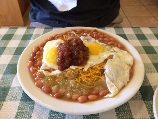 Pine Country Restaurant: Huevos Rancheros