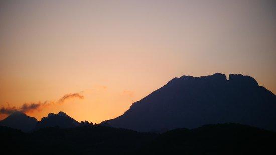 B&B Villa Pico: uitzicht zonsopgang vanuit de kamer
