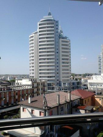 Hotel Centrale: Blick aus dem 5. Stock