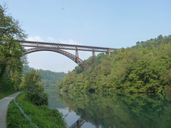 Ponte di ferro di paderno picture of parco adda nord capriate san gervasio tripadvisor for Capriate in ferro