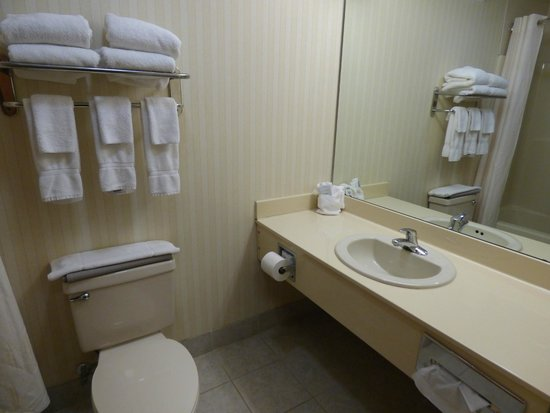 good bath area picture of comfort suites boone. Black Bedroom Furniture Sets. Home Design Ideas