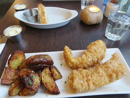 Delicious fish and unusual chips picture of icelandic for Icelandic fish and chips