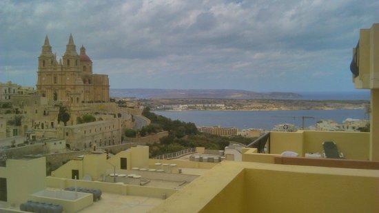 Pergola Hotel & Spa: view from balcony