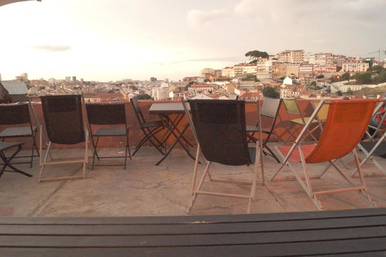 This is Lisbon Hostel : Terrasse