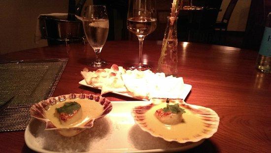 Mithas : Scallops- chef tasting menu