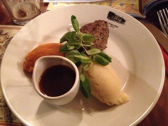 The Cairngorm Hotel: Haggis appetizer