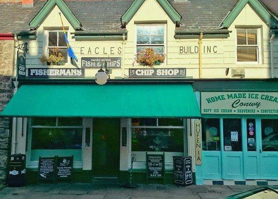 Fisherman's Fish & Chip Shop: The shop front
