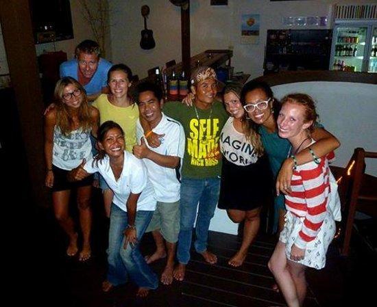 Haad Yao Lounge & Fitness : Meeting new people