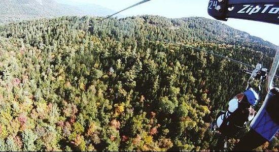 Attitash Mountain Resort: Fall Zip Tour Attitash Mountain...So much Fun!!
