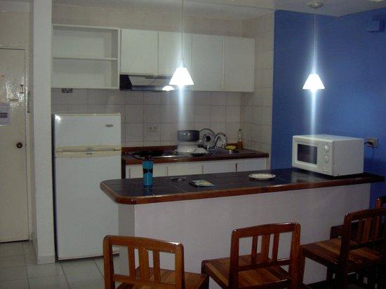 Hotel Margarita Lake Plaza : Area de la cocina de la Suite
