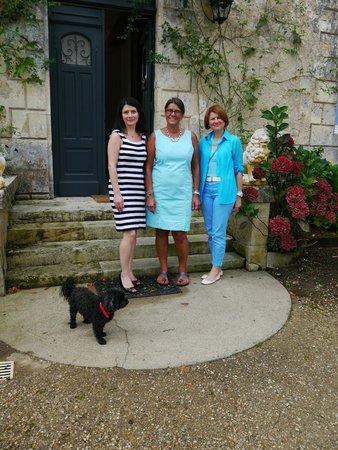 Chateau Lamothe du Prince Noir - Bordeaux: with Carla on our departure