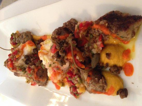 Restaurant Le Ciel d'Or : Delicious fish lotte
