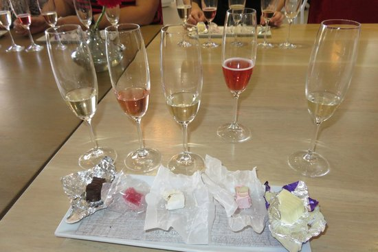 House of J.C. Le Roux: Wine and nougat paring