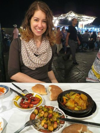 ‪‪Aicha‬: Food at Jemaa El Fna‬