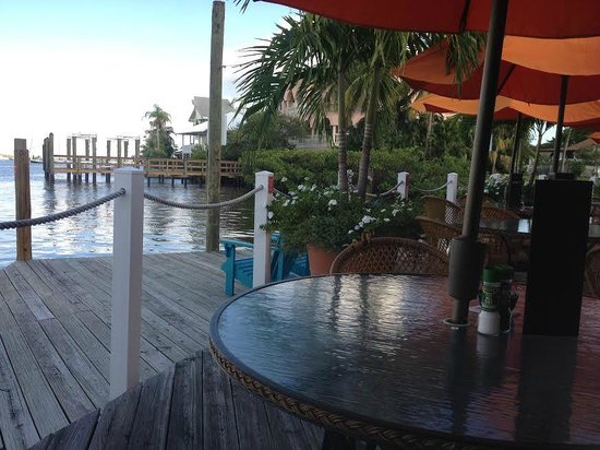 Matanzas on the Bay: Outside on deck