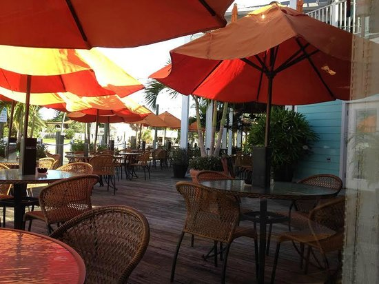 Matanzas on the Bay: Outside deck