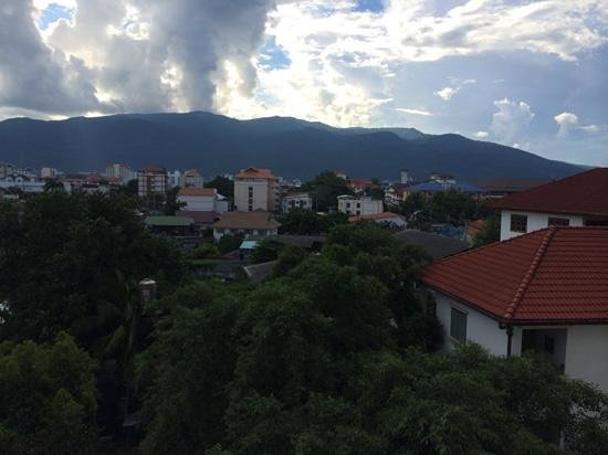 Viangbua Mansion: ベランダからの景色