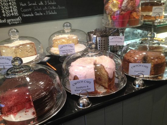 Cwtch Cafe: Spoilt for choice