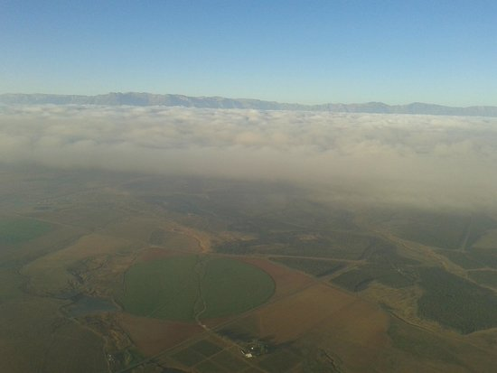 Drakensberg Ballooning: The High Berg over the clouds