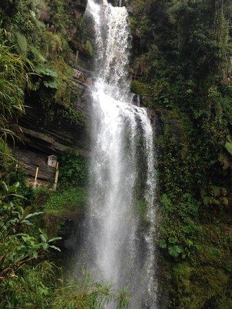 Cascada La Chorrera: kleine waterval