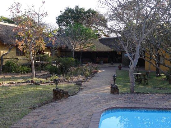 Thornhill Safari Lodge: tuin