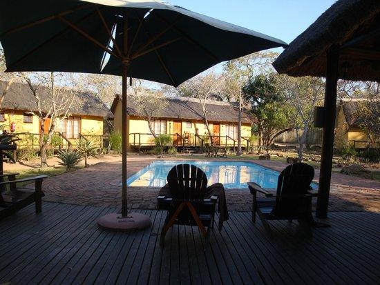 Thornhill Safari Lodge: zwembad