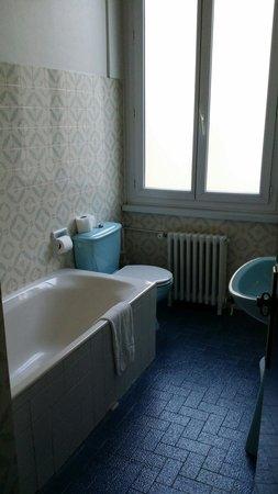 Hôtel du Helder : Salle de bain