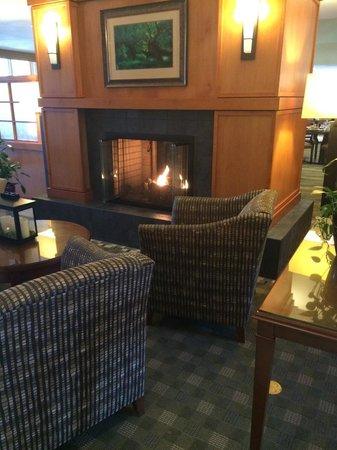 Hilton Garden Inn Lancaster: Lobby area
