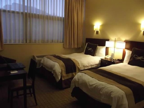 Pointe Plaza Hotel: A wonderful, impeccably clean, cheerful, well lit room: