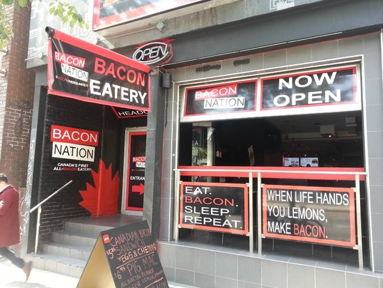Photo of Restaurant Bacon Nation at 170 Spadina Ave, Toronto M5T 2C2, Canada