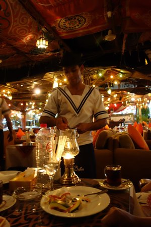 Ali Baba Restaurant: dessert
