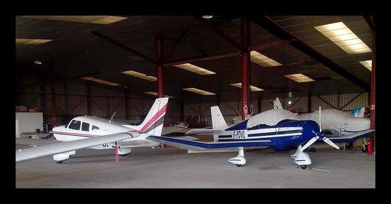 Portiragnes, فرنسا: Baptême de l'air - Notre avion...