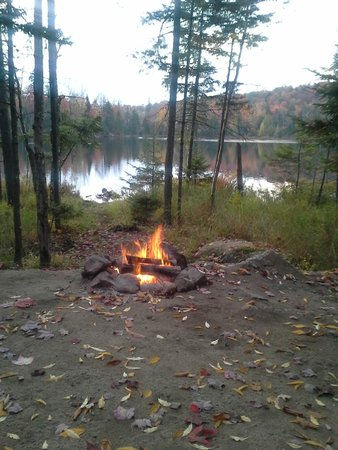 Old Forge Camping Resort: The view from Site #373