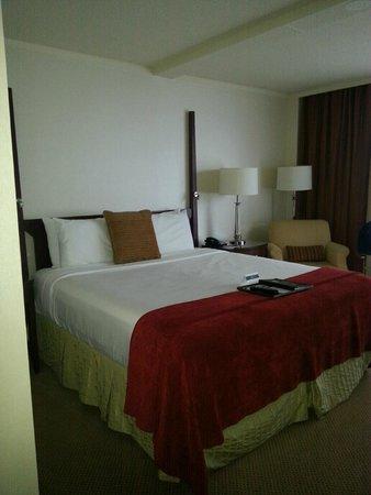 The Fairmont Winnipeg: King-sized bed