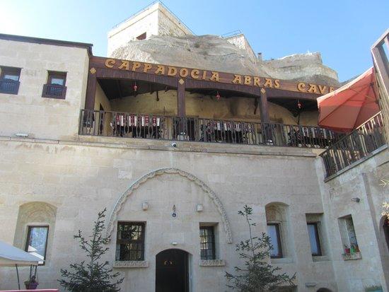 Cappadocia Abras Cave Hotel : façade