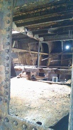 Plassey Wreck: Inside the ship