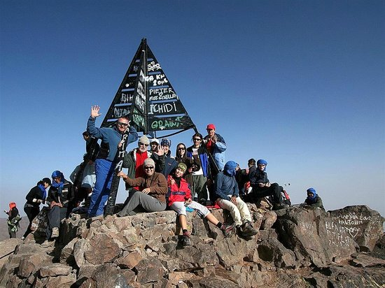 Toubkal Trekking: on top!