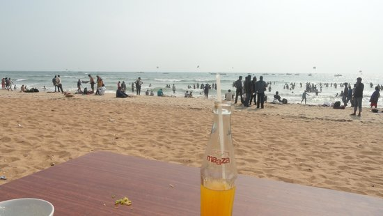 Baga, India: Beach shack