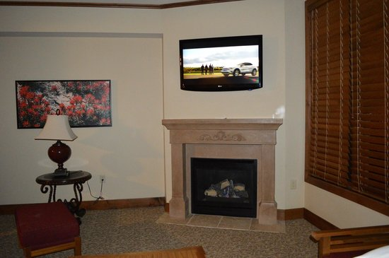 Sunrise Lodge by Hilton Grand Vacations: Living area