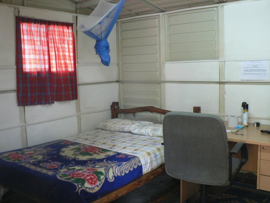 "Bedouin Hotel - Juba: Inside the ""shed"" room"