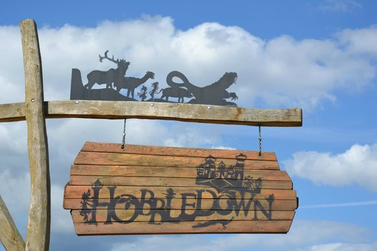 Hobbledown: Вывеска у входа